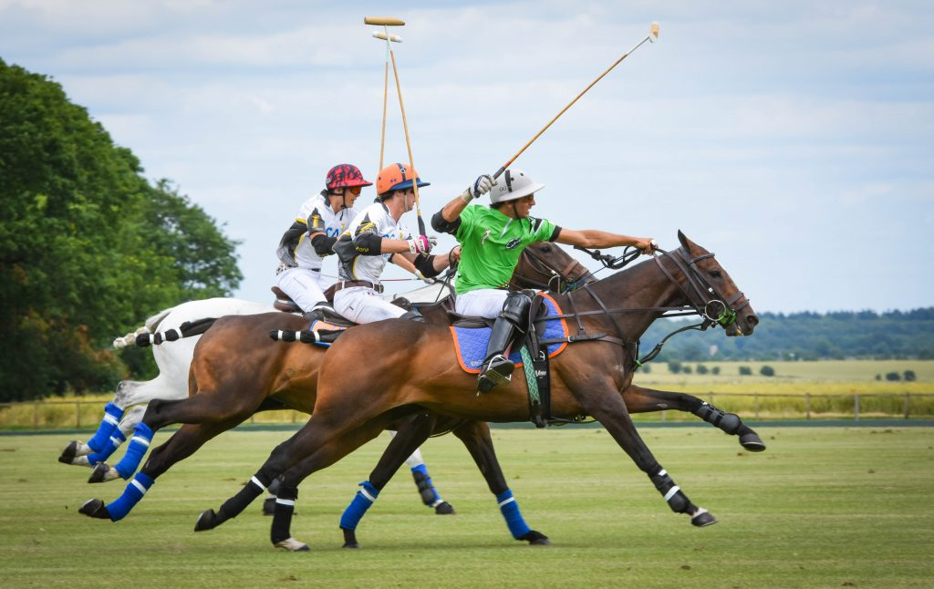 polo playing