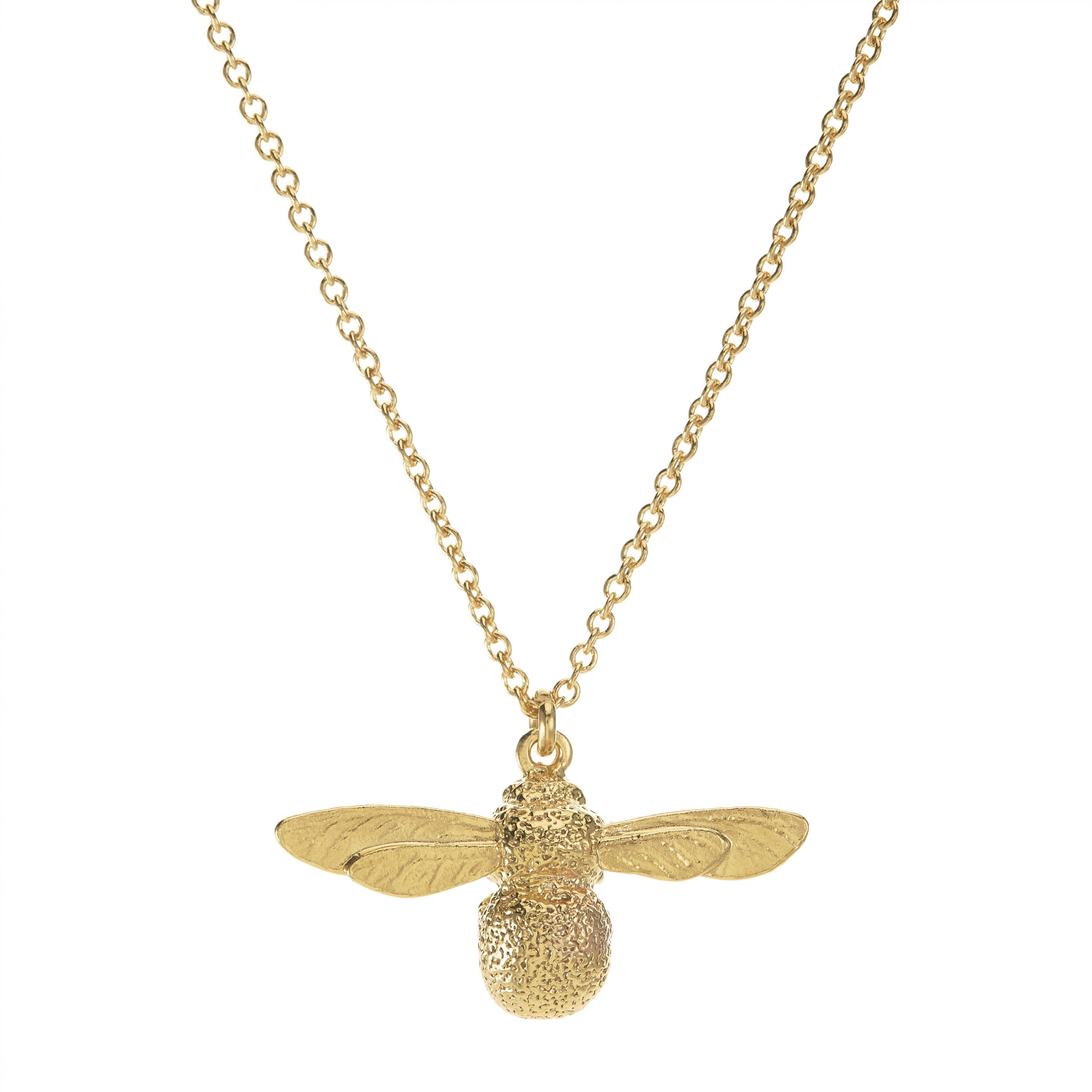alex monroe bee necklace gold