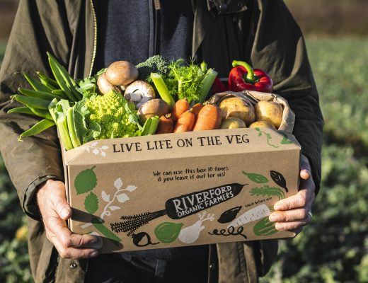 riverford organics veg box fresh vegetables