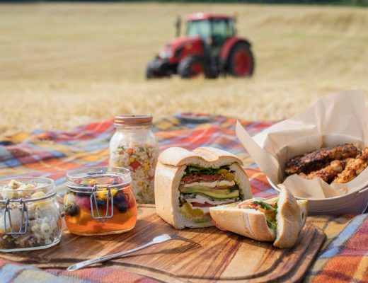 in the country picnic loaf