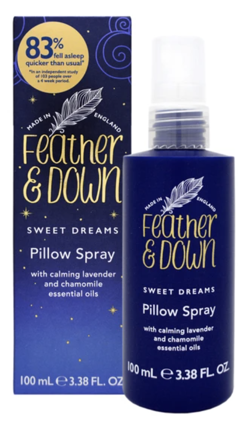 feather and down pillow spray