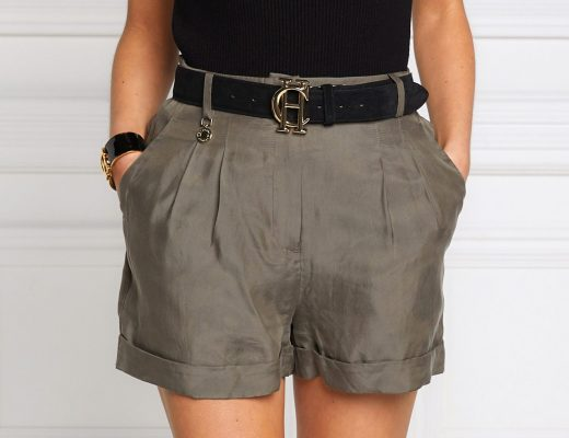 holland cooper khaki shorts summer style